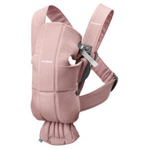 μαρσιπος μινι βαμβακερος dusty pink babybjorn